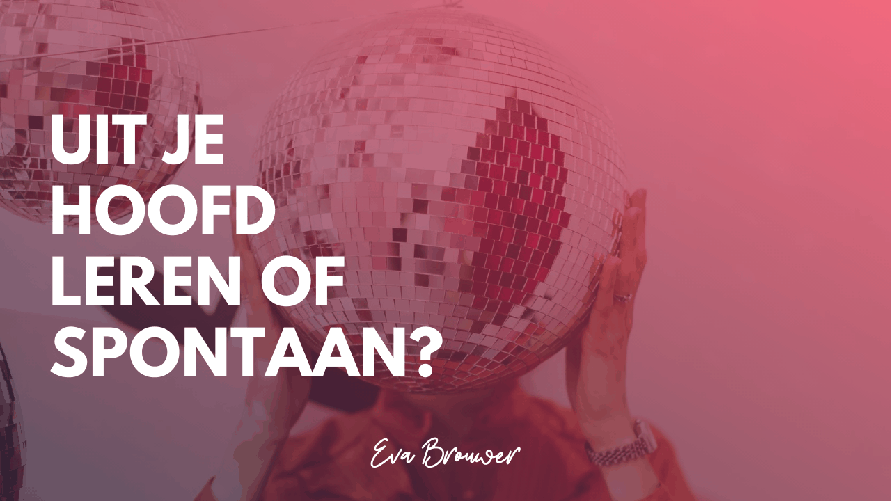 Uit je hoofd of spontaan?